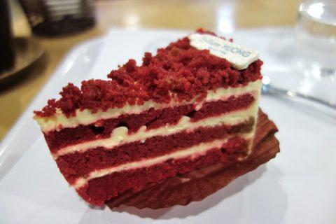 レッドベルベットのケーキ