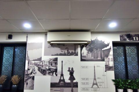 madame-huong-hanoiの冷房