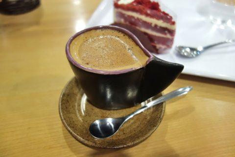 madame-huong-hanoiのミルクコーヒー