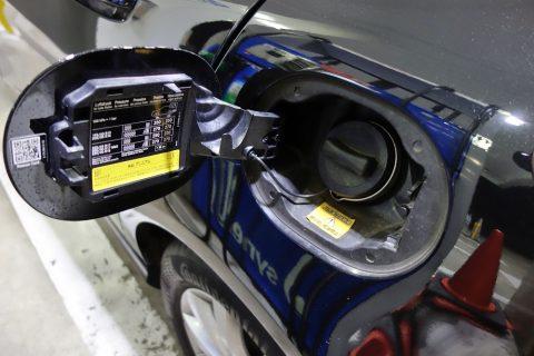 ガソリンタンク/mercedes-benz-a180