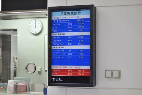 外貨レート/千葉興行銀行