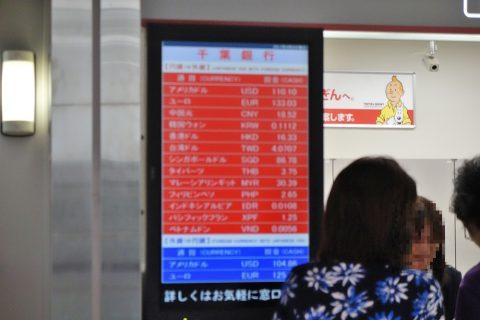 外貨レート/千葉銀行