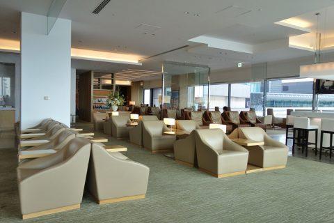 成田空港サクララウンジの混雑状況