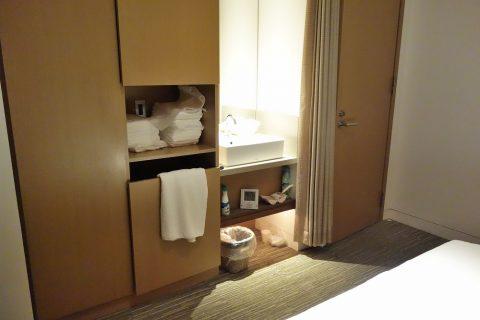 洗面台/サクララウンジのマッサージルーム