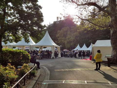 日本ワイン祭会場