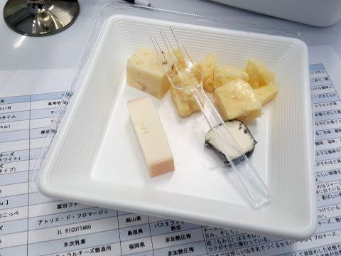 チーズの種類/日本ワイン祭