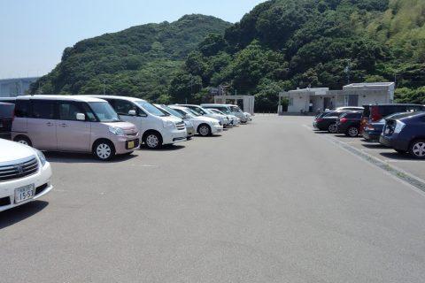 大塚国際美術館の駐車場