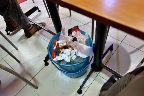 thanh-hop-hanoiのゴミ箱