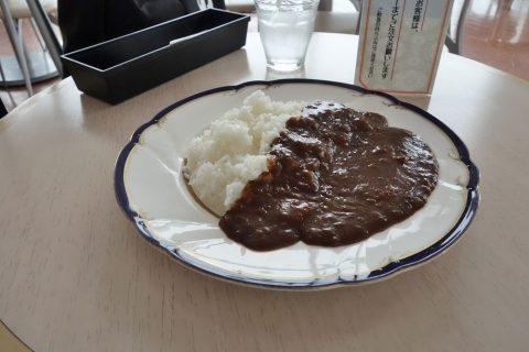 徳島空港のカレー