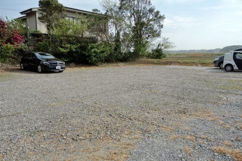 うなぎ又兵衛の駐車場