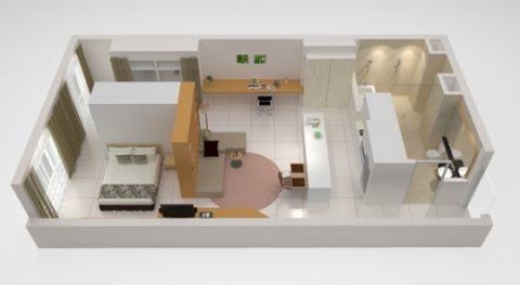 PARKROYAL-Serviced-Suites-KualaLumpur/ワンベッドルーム