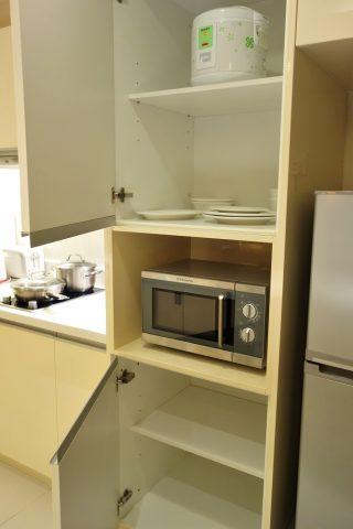 PARKROYAL-Serviced-Suites-KualaLumpur/食器と炊飯器
