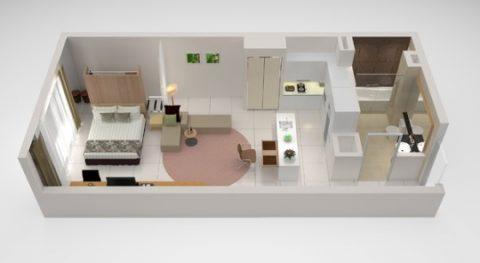 PARKROYAL-Serviced-Suites-KualaLumpur/スタジオスイート