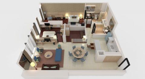 PARKROYAL-Serviced-Suites-KualaLumpur/エグゼクティブスイート
