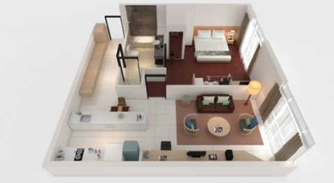 PARKROYAL-Serviced-Suites-KualaLumpur/プレミアスイート
