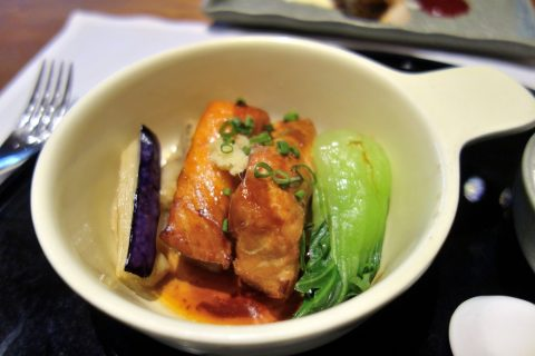 Salmon-teriyaki/The-Pier-First-Class-Lounge-restaurant