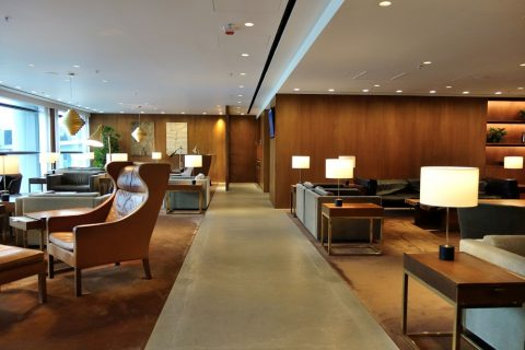 The-Pier-First-Class-Loungeの混雑状況