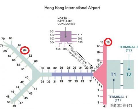 香港国際空港MAP