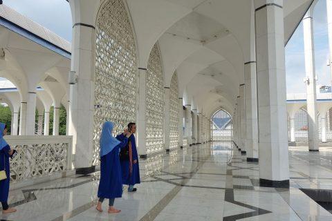ブルーモスクの回廊