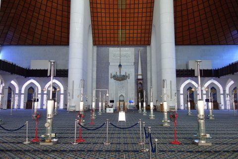 ブルーモスクの礼拝堂