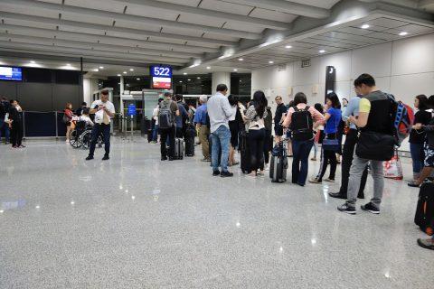 香港国際空港522ゲート