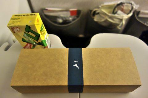 cathaypacific-777-200/深夜便の機内食