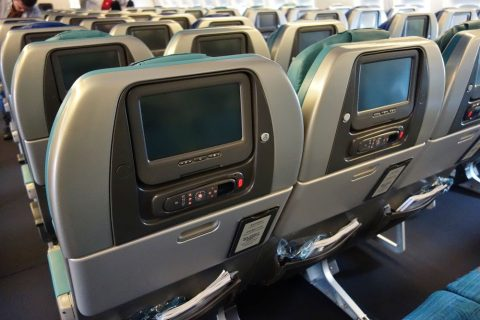 777-300のシート/キャセイパシフィック航空