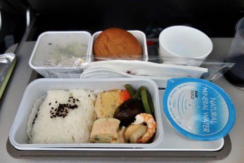 機内食/キャセイパシフィック航空/成田発
