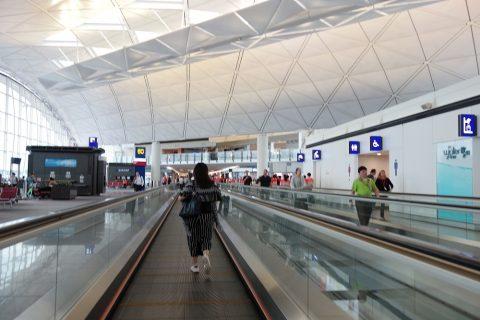 香港乗継時間