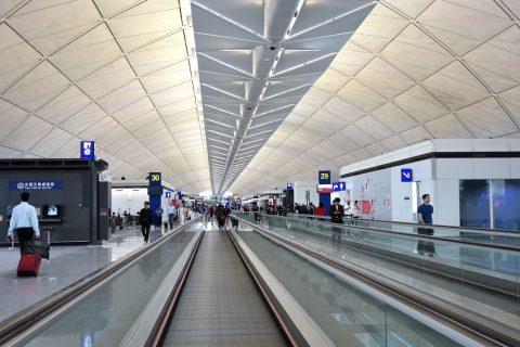 香港国際空港の乗継