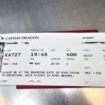格安航空券でも次の便へ無料で変更!キャセイの神対応がスゴイ!
