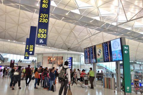 搭乗ゲート/香港国際空港
