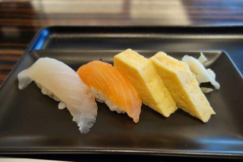 寿司の味/JALファーストクラスラウンジ