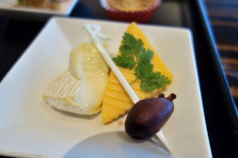 チーズの盛り合わせ/JALファーストクラスラウンジ