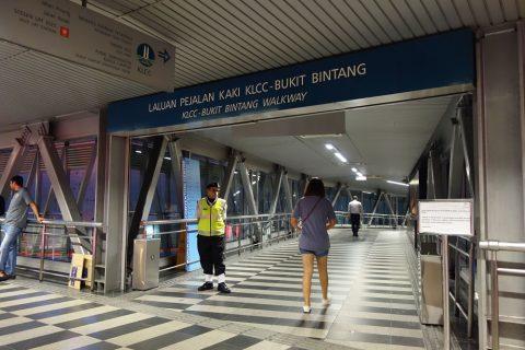 klcc-bukit-bintang-walkway入口