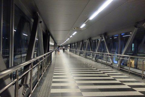 klcc-bukit-bintang-walkwayの通路