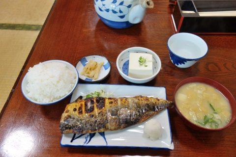 真(まこと)の鯖定食
