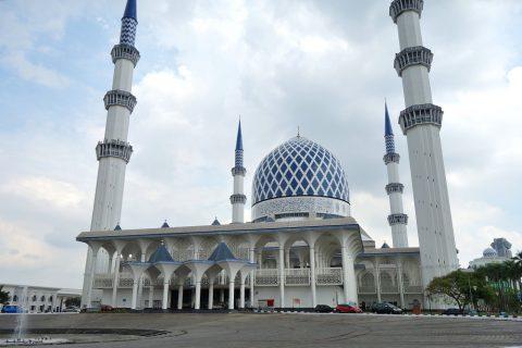 シャーアラムのブルーモスク