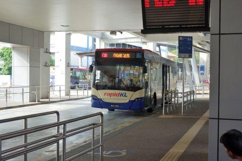 シャーアラム行き750番バス