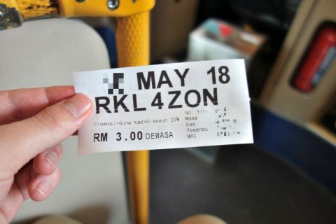KLバスチケット
