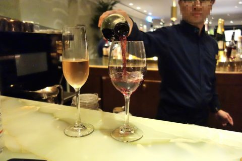the-pier-firstclass-lounge-bar/ワインとシャンパン