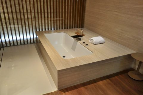 CABANAの浴槽