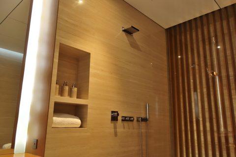 CABANAのシャワー