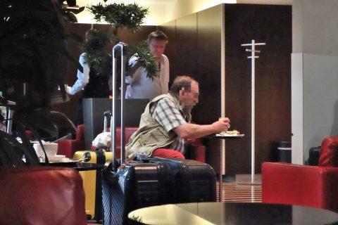 DB-loungeのパンとクロワッサン