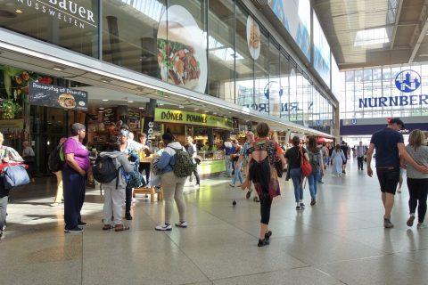 ミュンヘン中央駅コンコース