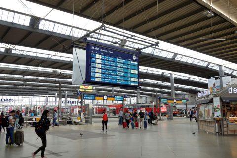 ミュンヘン中央駅ホーム
