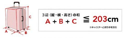 JAL受託手荷物国際線