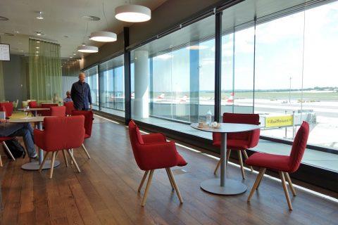 座席/ウィーン国際空港オーストリア航空ラウンジ