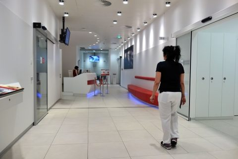 レセプション/ウィーン国際空港オーストリア航空ラウンジ