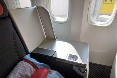 サイドテーブル/オーストリア航空ビジネスクラス